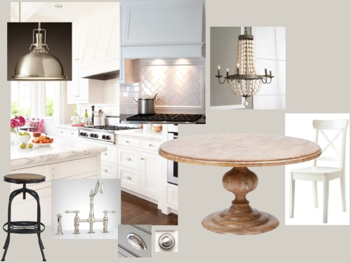 Kitchen and Breakfast Moodboard- The House of Figs